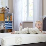 Sealy Healthy Dream Hybrid 2-Stage Crib and Toddler Mattress - White