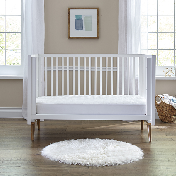 Sealy Cozy Dreams Waterproof Fitted Crib Mattress Pad ...