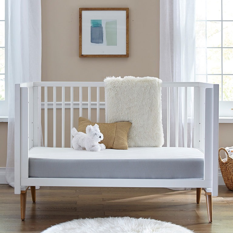 Sealy BabyPedic Posture Supreme 2-Stage Crib & Toddler Bed Mattress