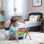 Sealy BabyPedic Posture Supreme 2-Stage Crib & Toddler Mattress - White
