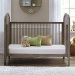 Sealy Soybean Plush Crib Mattress - White