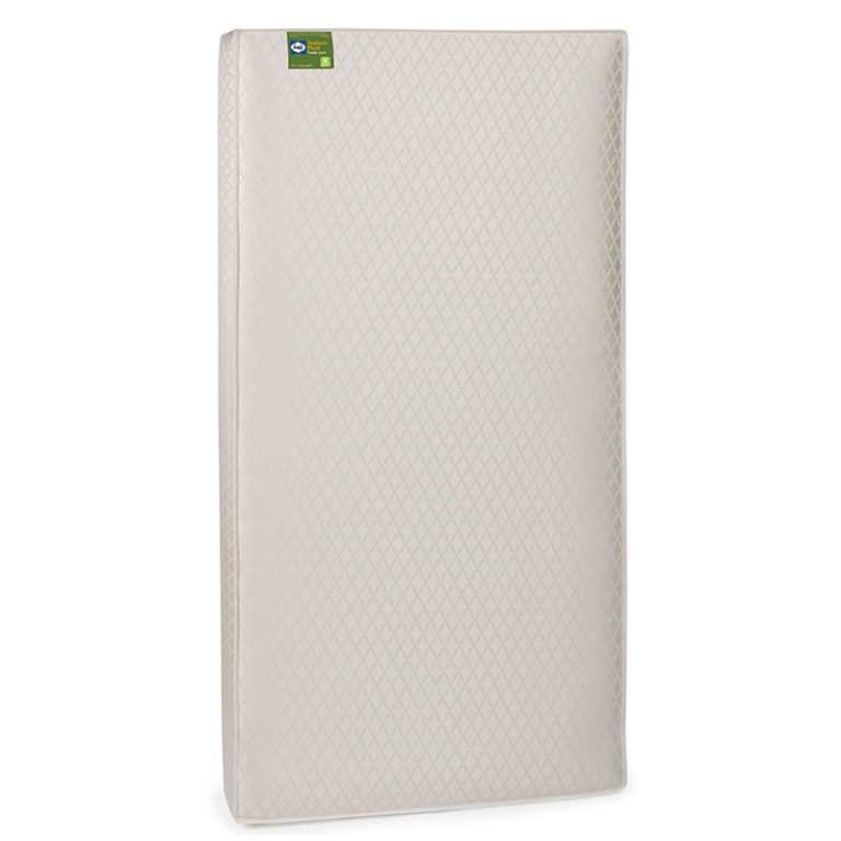 Sealy Soybean Plush Crib & Toddler Mattress