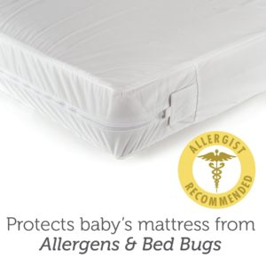 Sealy SafetyCase Protective Crib Mattress Encasement_ed027-qzx