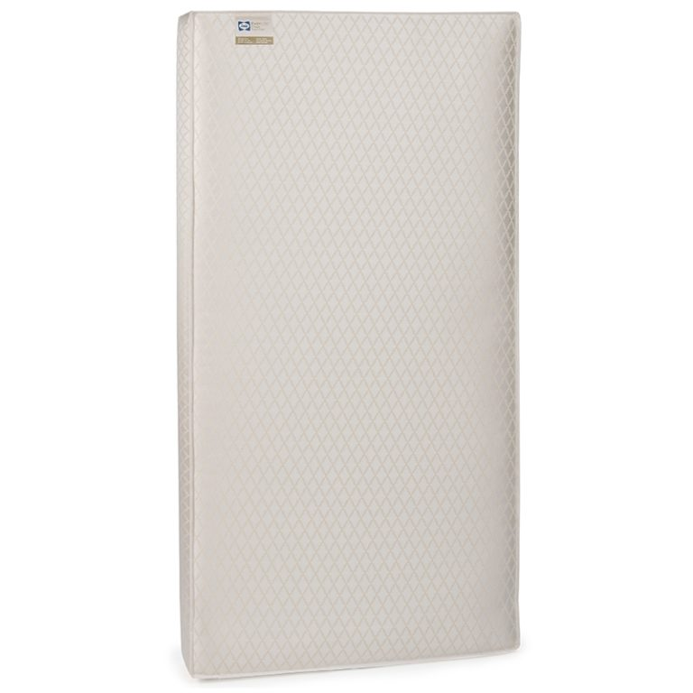 Sealy EverLite 2-Stage Crib & Toddler Bed Mattress - White