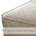 Waterproof surface