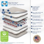 Sealy Baby Firm Rest Crib Mattress - White