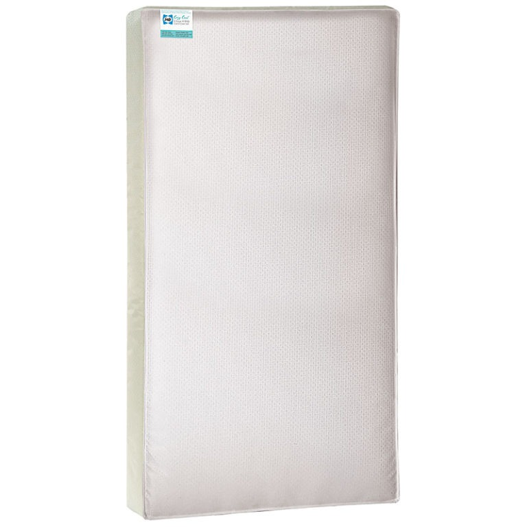 Sealy Cozy Cool Hybrid 2-Stage Coil & Gel Crib Mattress