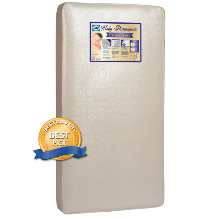 Sealy Posturepedic Crown Jewel Crib & Toddler Bed Mattress
