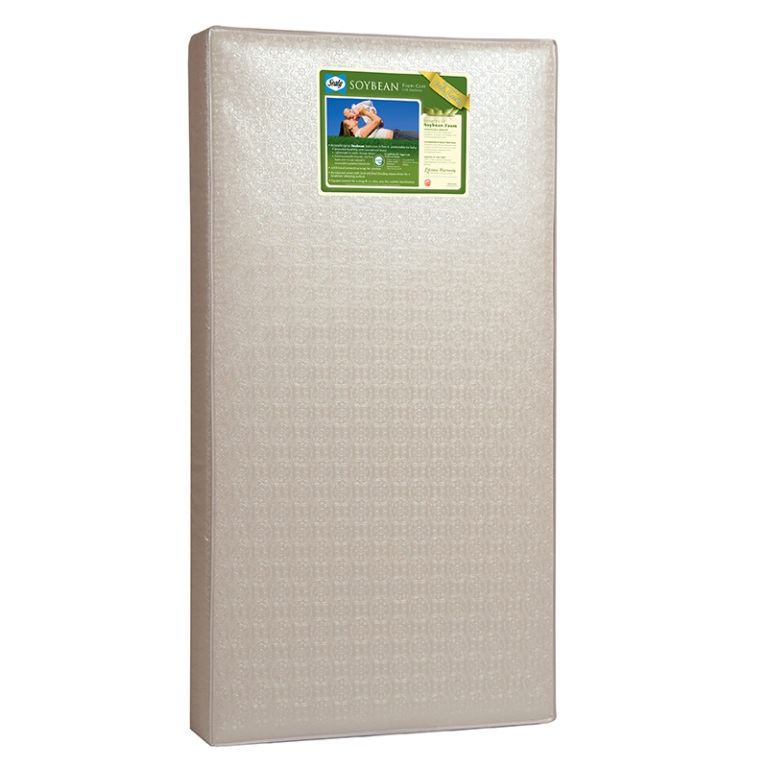 Sealy Soybean Foam-Core Crib & Toddler Mattress