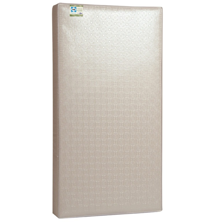 Sealy Soybean Everedge Foam-Core Crib Mattress - White
