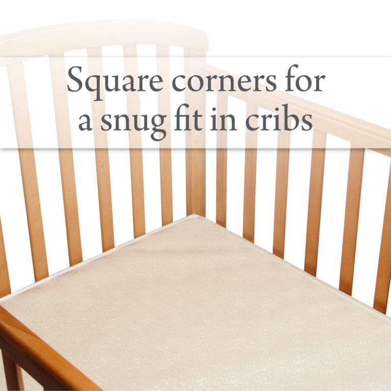 Sealy Soybean Everedge Foam Core Crib Mattress Sealy Baby