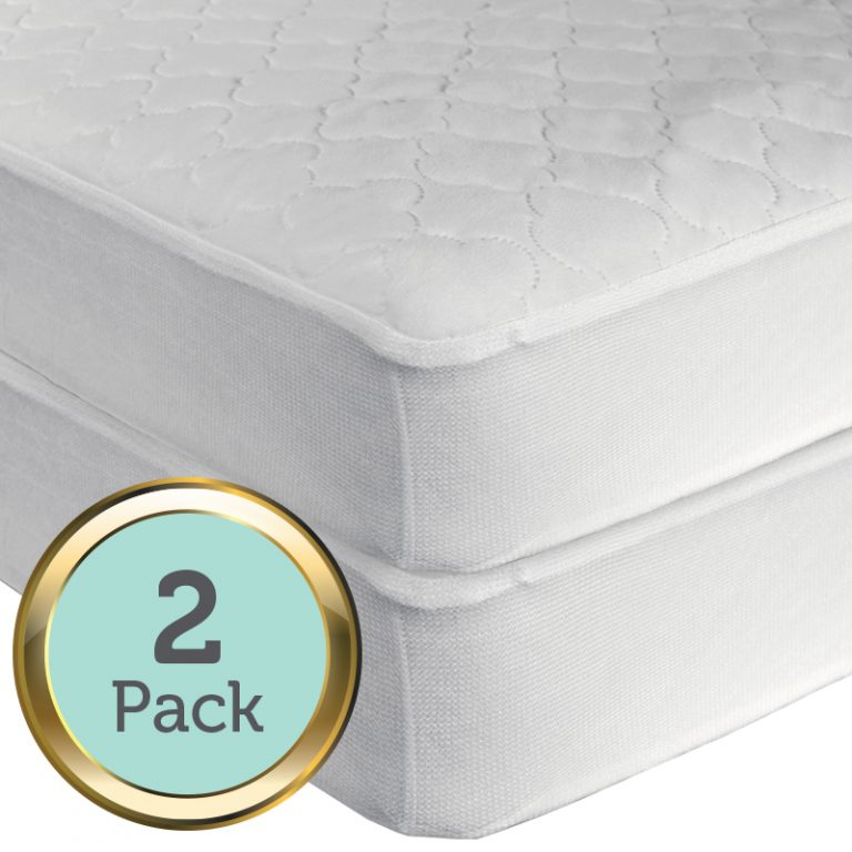 Sealy Secure Protect Waterproof Fitted Crib Mattress Pad Sealy Baby