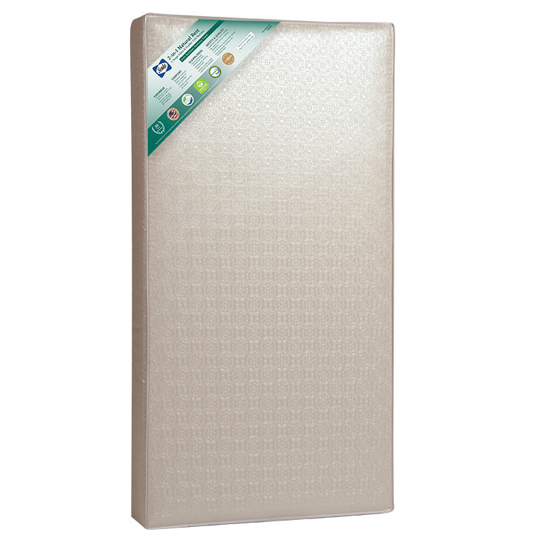Sealy 2-in-1 Natural Rest 2-Stage Crib & Toddler Bed Mattress