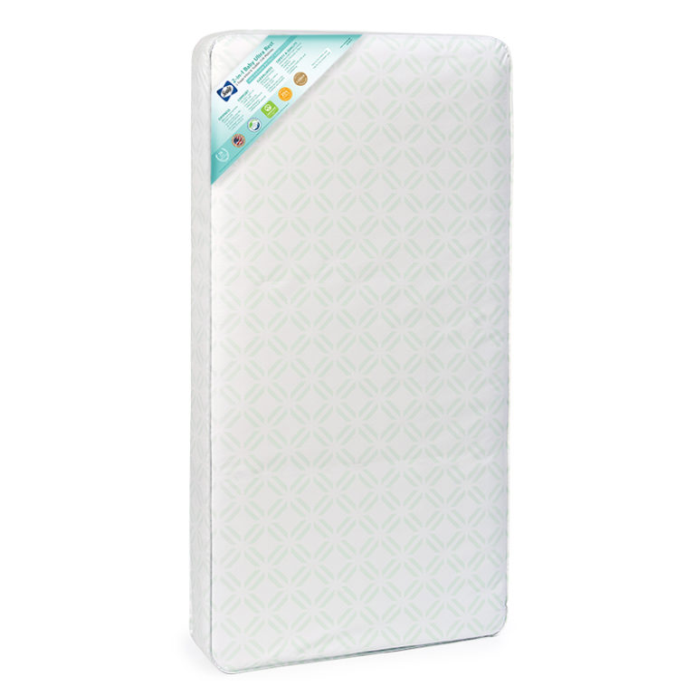 Sealy 2-in-1 Baby Ultra Rest 2-Stage Crib & Toddler Bed Mattress