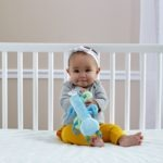 Sealy 2-in-1 Baby Ultra Rest 2-Stage Crib & Toddler Bed Mattress - White