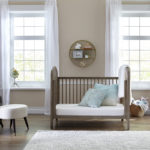 Sealy Butterfly Cotton Comfort Superior Firm Crib and Toddler Mattress - Beige