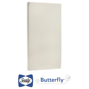 Sealy Butterfly Cotton Comfort Superior Firm Crib and Toddler Mattress