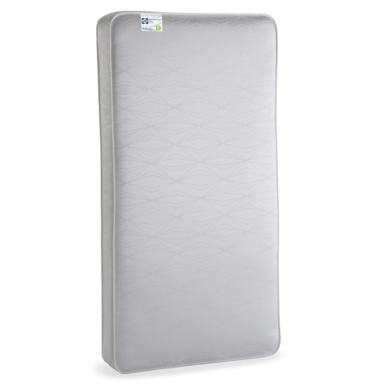 Sealy Baby Posturepedic Grace 2-Stage Hybrid Crib and Toddler Mattress - White Diamond